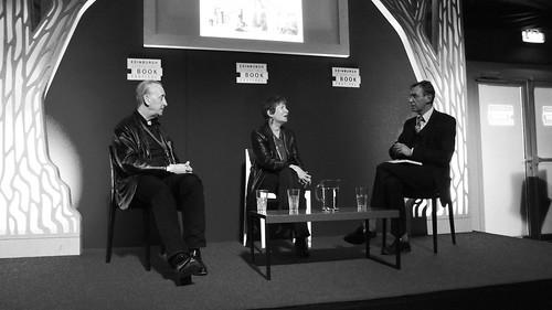 Edinburgh Book Festival 2012 - Bryan and Mary Talbot with Stuart Kelly