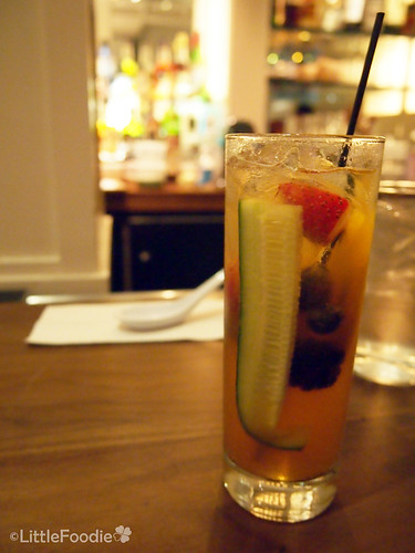 Pimms + Lemon
