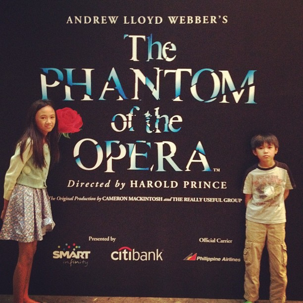 enjoyed watching phantom tet said production was awesome and reese cried