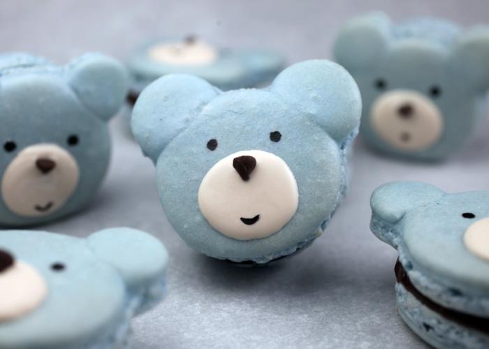 Bear Macarons
