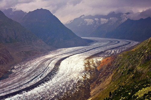 nature landscape switzerland nikon glacier 2012