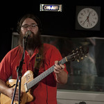 Mon, 20/08/2012 - 4:40pm - Matthew E. White performs live on 6.18.12 in WFUV's Studio A. Photo by Andrew Arne