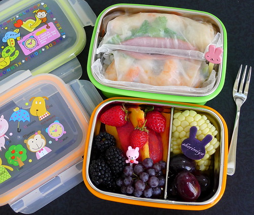 Summer Rolls Bento, part 2. by sherimiya ♥