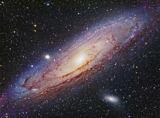 "M31 Andromeda Galaxy  ""Neighbor of a Grand Design"""