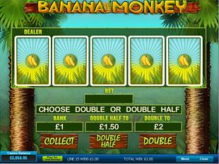 Banana Monkey Gamble Feature