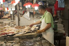 market, fish, street food, food, butcher,
