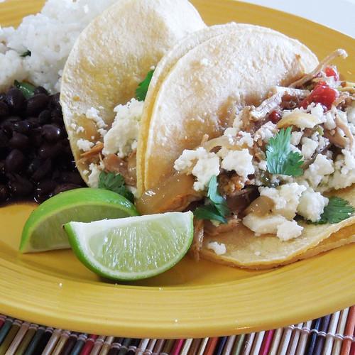 Baja Pork Tacos Plate