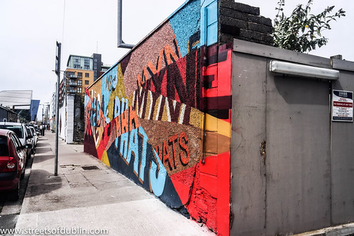 Street Art At Hanover Quay - Dublin Docklands by infomatique