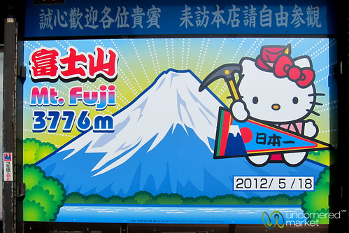 Mount Fuji Hello Kitty