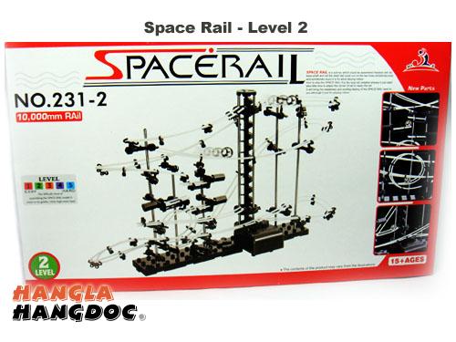Space Rail - vòng đua vũ trụ - trò chơi mô hình trí tuệ