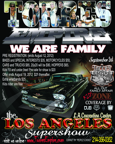 Event Preview Torres Empire Los Angeles Car Show Concert - Car show in los angeles this weekend