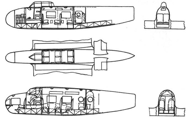 Kalinin K-12 passenger version 2