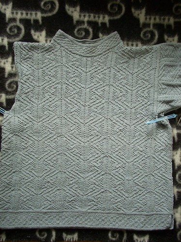"""Aberlady"" sweater in progress by Asplund"