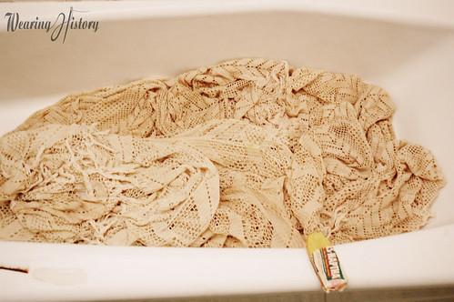 bedspread soak