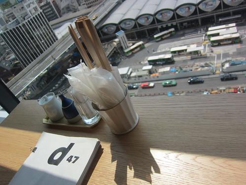 渋谷ヒカリエ d47食堂