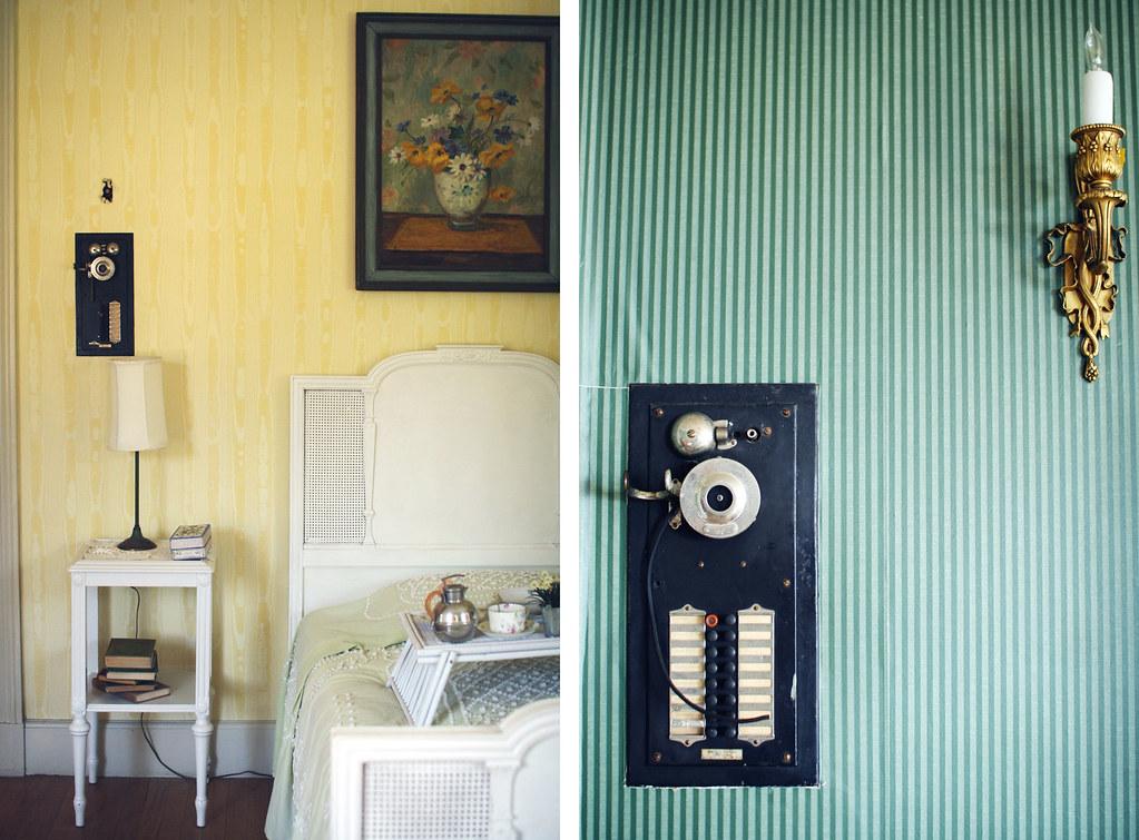 intercom and bedroom