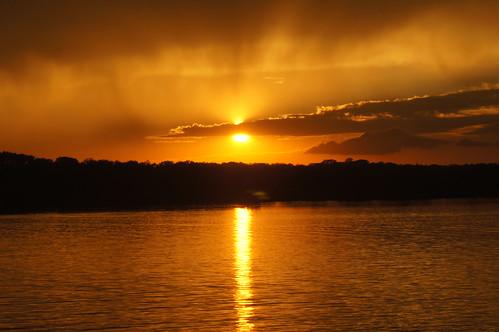 Sunset Over Pawnee Lake