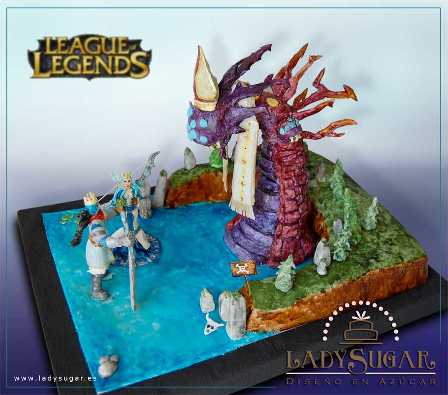League Of Legends Inspired Wedding Cakes