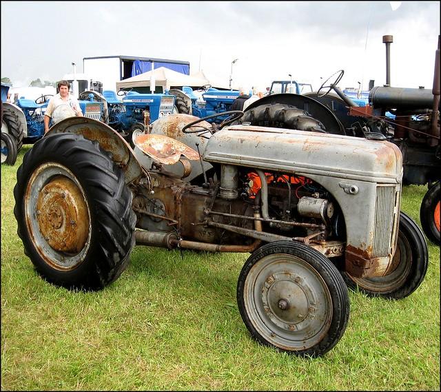 Ford Ferguson Tractor : Ford ferguson tractor n coil autos we