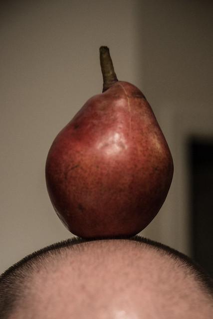 85/365: Hair A-pear-ent