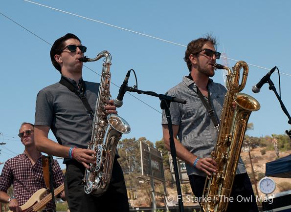Nick Waterhouse @ FYF Fest 2012, Day 2