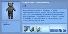 Scary Bearys - Robo Bearbot