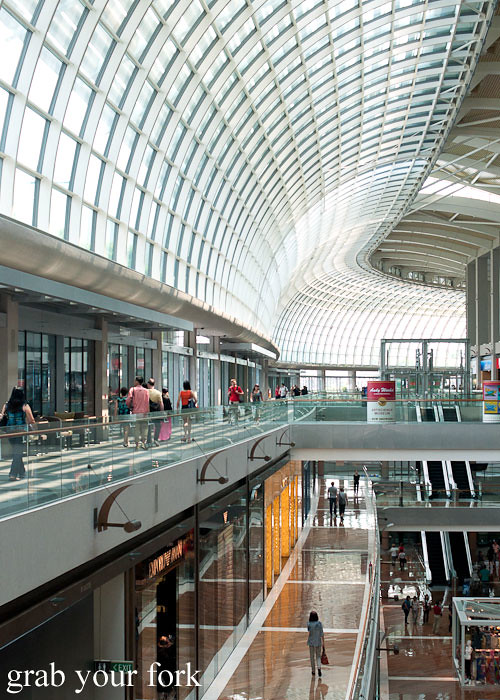 marina bay sands shoppes singapore