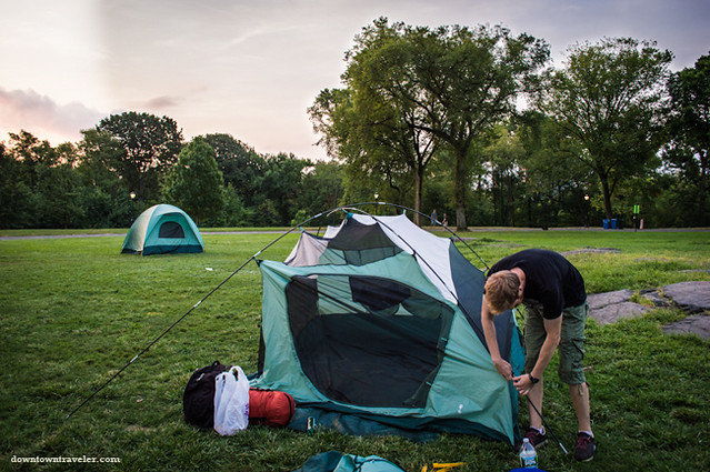 Camping in Central Park NYC-44