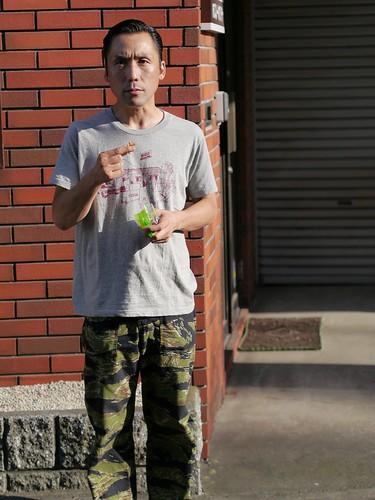 夕陽のTシャツ × FUKUUMARE TEE