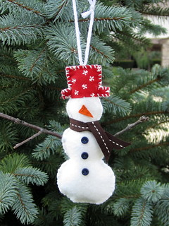 August: Snowman