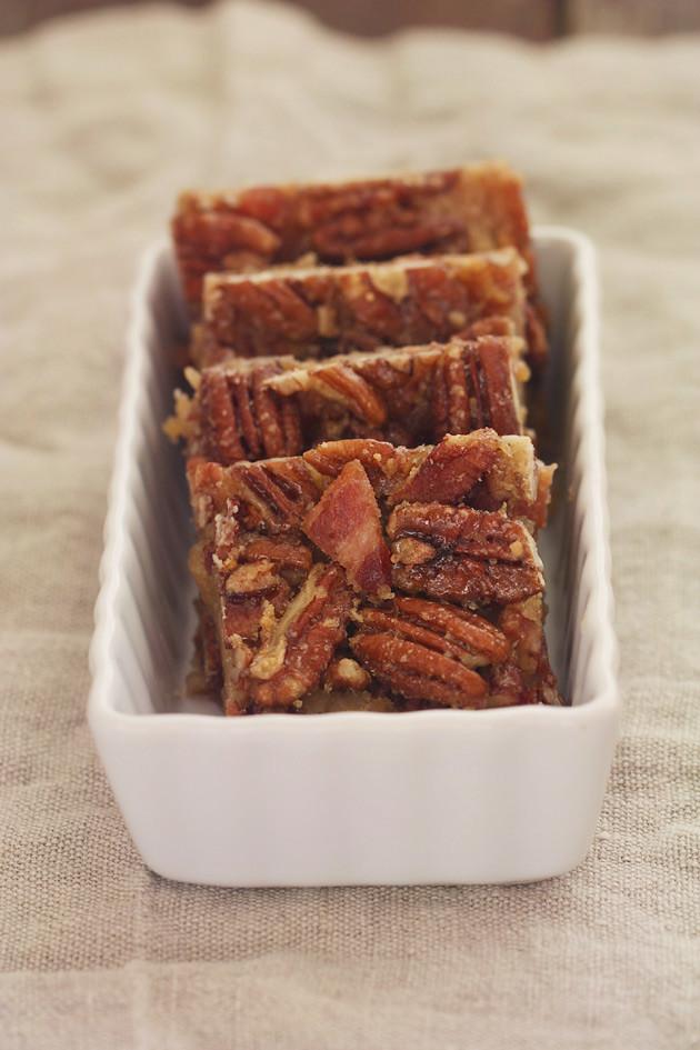 sticky bars recipe maple pecan pie squares maple pecan sticky bars ...