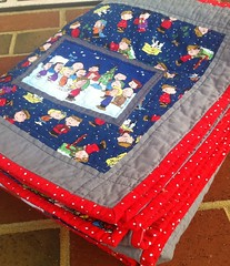 charlie brown christmas quilt.