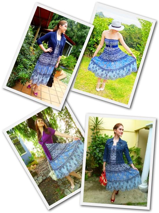 Blue Dress Remi by The Joy of Fashion