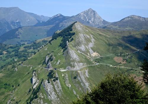 View of north side Col du Soulor