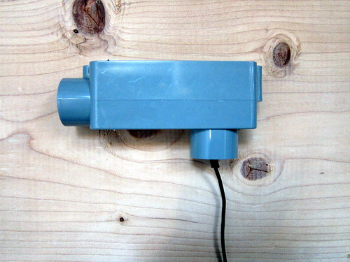 DIY Spectrometer: imager housing