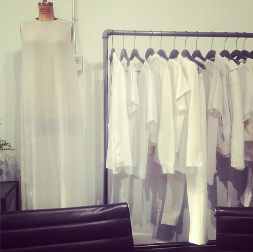 White focus at BLK DNM appointment