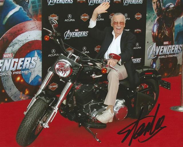 Stan Lee Avengers Premiere