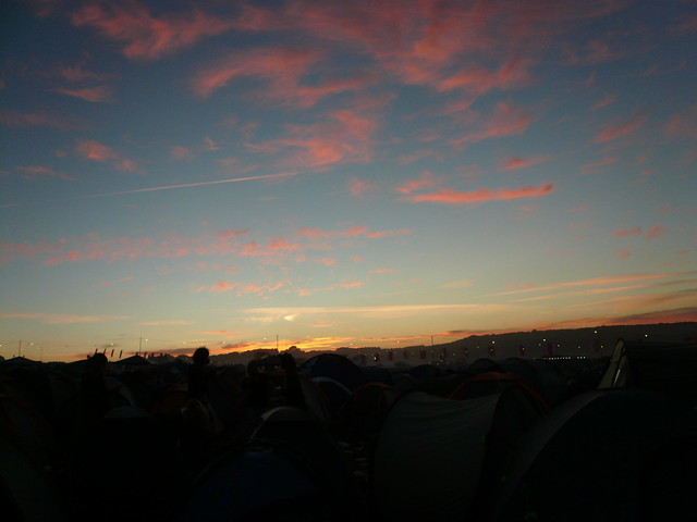 Sunset at Bestival
