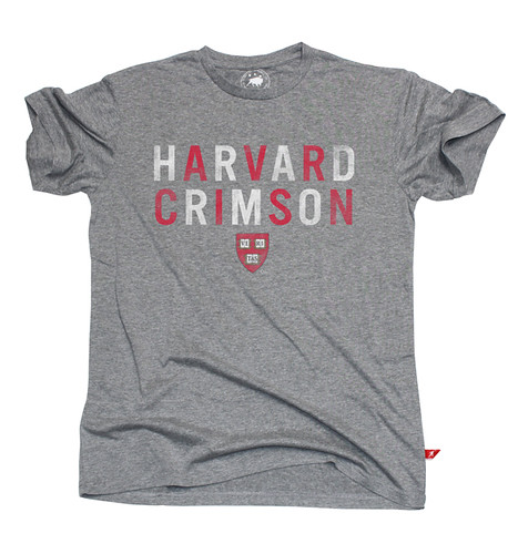 Harvard Crimson University Gray T-Shirt