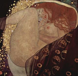 """""""Mujer"""", de Gustav Klimt."""
