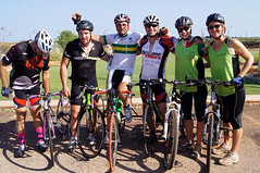 Mark and some of the riders from Broome who joined us for the ride into Broome