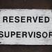 reserved supervisor