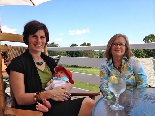 Rachel, Zac + Granny