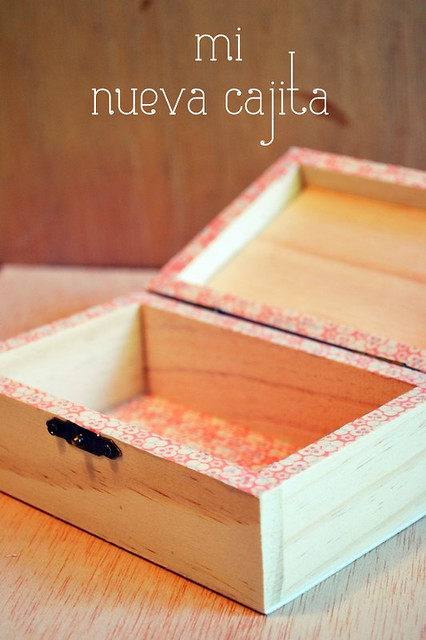 decorar caja washi tape.