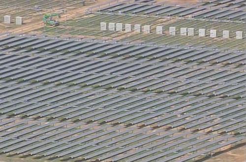 Солнечные батареи и трекеры поставляются калифорнийской компанией SunPower