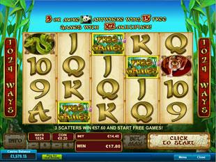free Lucky Panda bonus game