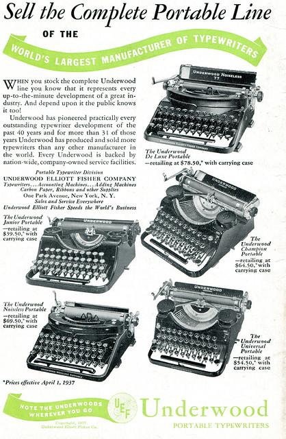 Underwood 1937