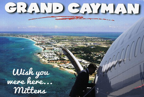 CAYMAN POSTCARD by Colonel Flick