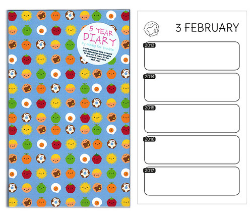 New 5 Year Diary