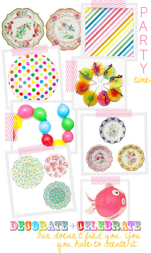 Celebrate From Decor-8: Cute Supplies